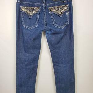"""Miss Me Skinny Jeans 32""""X28"""""""
